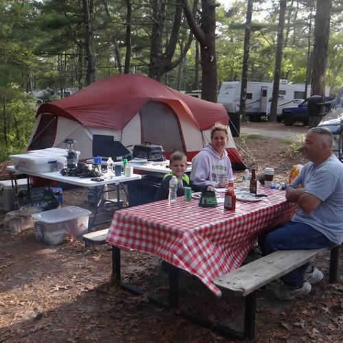 Cape Cod RV Campsites at Maple Park Campground